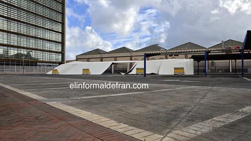 Fuertes vientos en Melilla