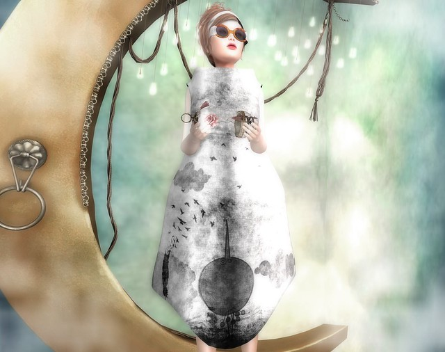 [sYs] PIERROT dress & sunglasses