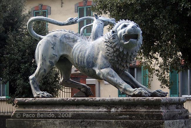 Detalle de la Quimera. © Paco Bellido, 2008