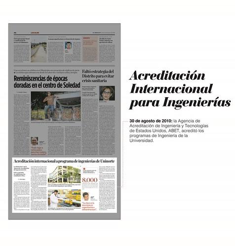 """""""Uninorte: cincuenta años siendo noticia en El Heraldo"""""""