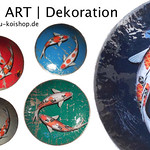 Koi ART Dekoschalen