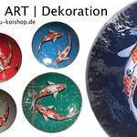 Koi ART Dekoschalen