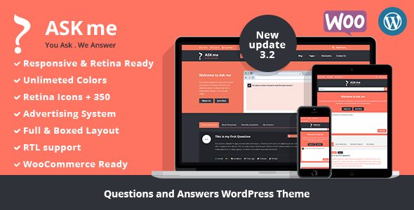Themeforest Ask Me v3.2 - Responsive Questions & Answers WordPress