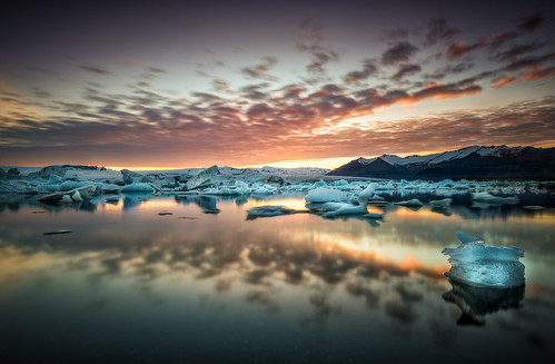 sunset sky panorama seascape nature water clouds sunrise outdoors iceland mood scenic dramatic atmosphere lagoon glacier arctic nordic flowing iceberg bluehour geology pure ultrawide jokulsarlon goldencircle sandinavia ~themagicofcolours~