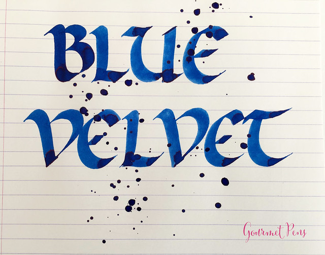 Ink Shot Review Diamine 150th Anniversary Blue Velvet @AppelboomL (4)