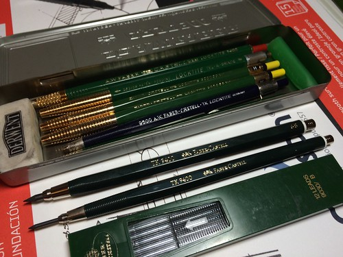 Faber Castell TK 9400 Clutch Pencil 3.15mm 4B
