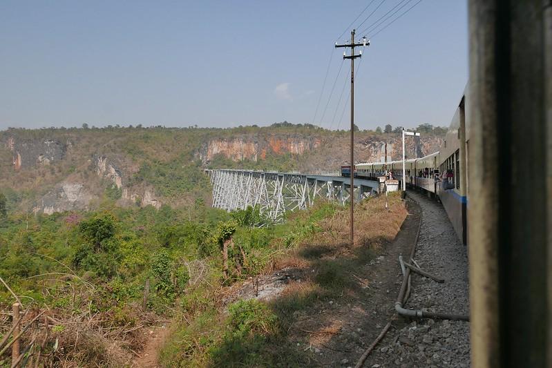 Anfahrt zum Viadukt