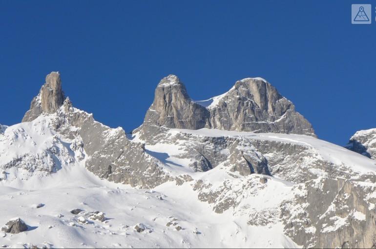 Drusenturm 2.830 m - velkolepé skály Rätikonu