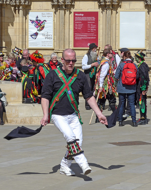 Morris dancer, York