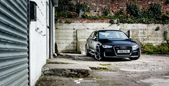 Audi RS3 Satin black wrap