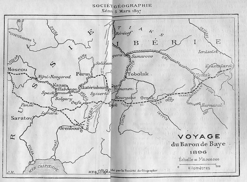 1897. Baye, Joseph de. De Moscou a Krasnoiarsk - souvenirs d'une mission_Страница_09