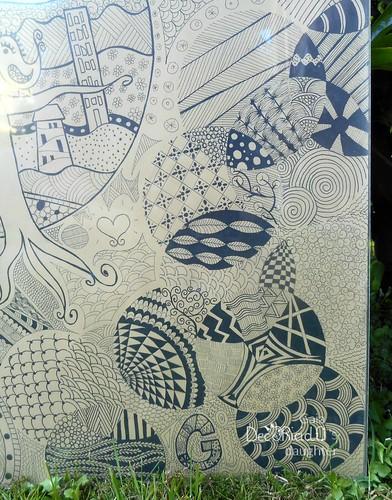 quadro zentangle 7