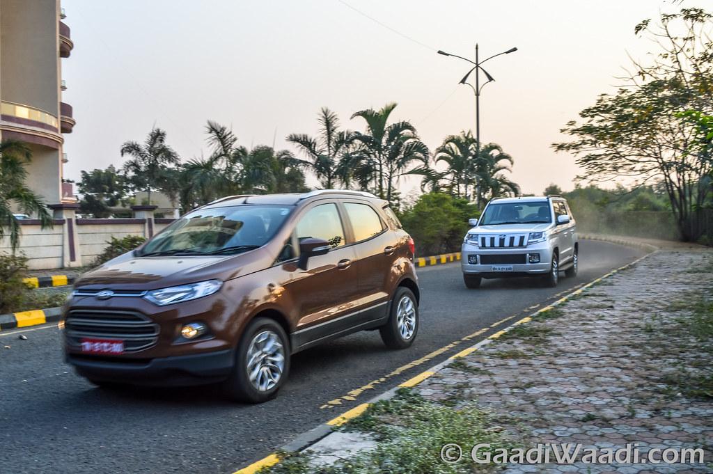 Ford Ecosport vs TUV300-22