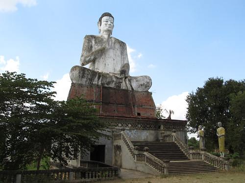 La campagne de Battambang: le site de Wat Ek
