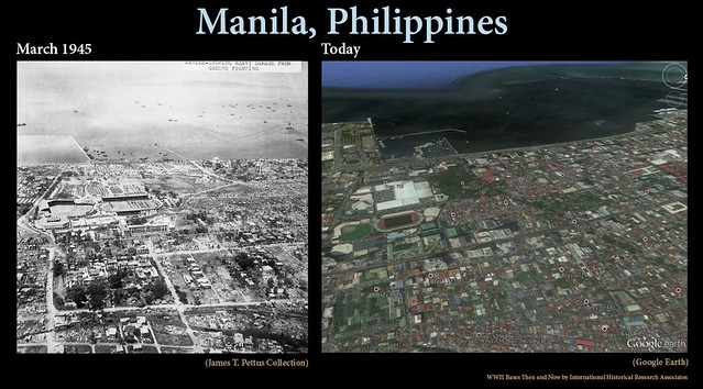 Manila Then and Now