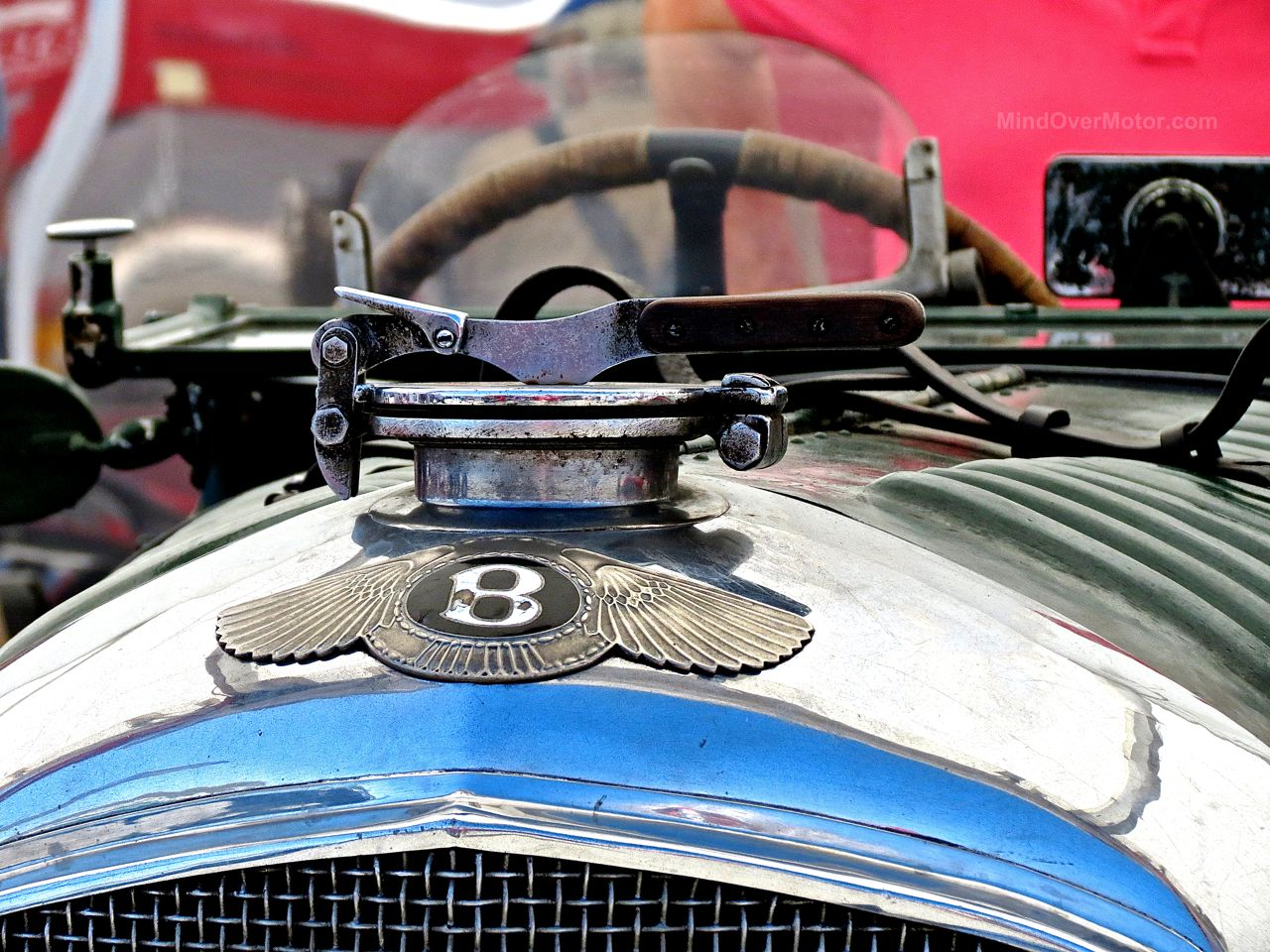 Blower Bentley Laguna Seca Paddock