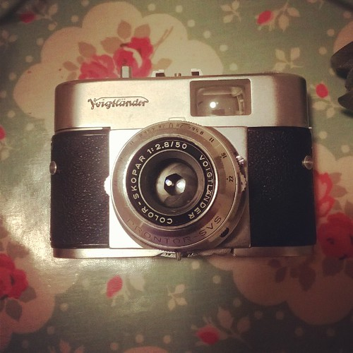 Voigtländer Vito B (late model). Possibly the sexiest 35mm P&S Ever
