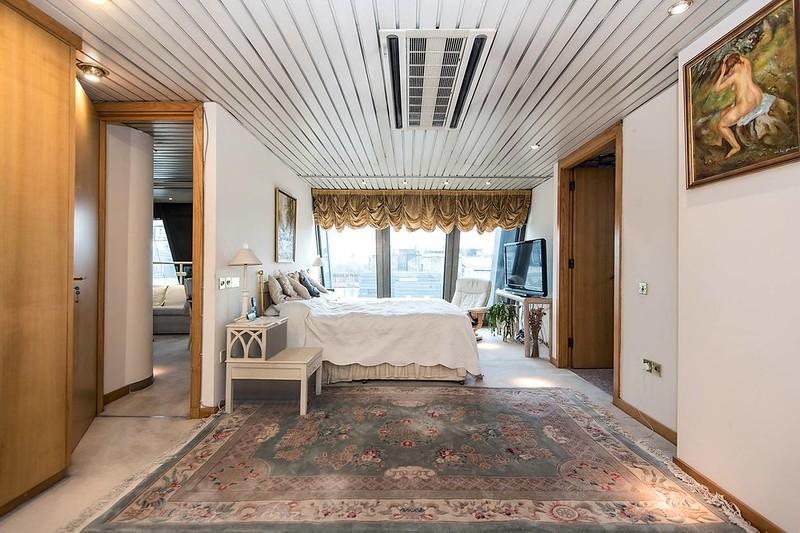 Дизайн спальни в пентхаусе