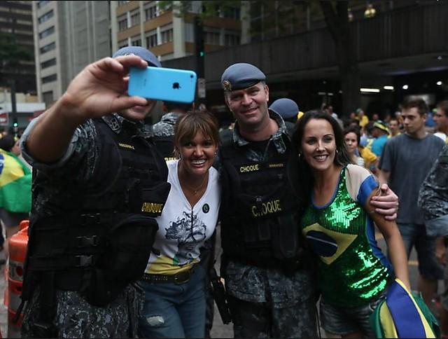Selfie com a PM