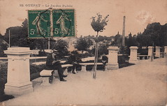 22. Guéret - Le Jardin Public (c.1917) - Photo of Saint-Vaury