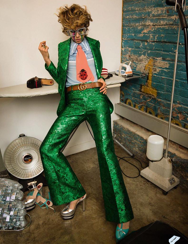 Эди Кэмпбелл — Фотосессия для «Vogue» FR 2016 – 3