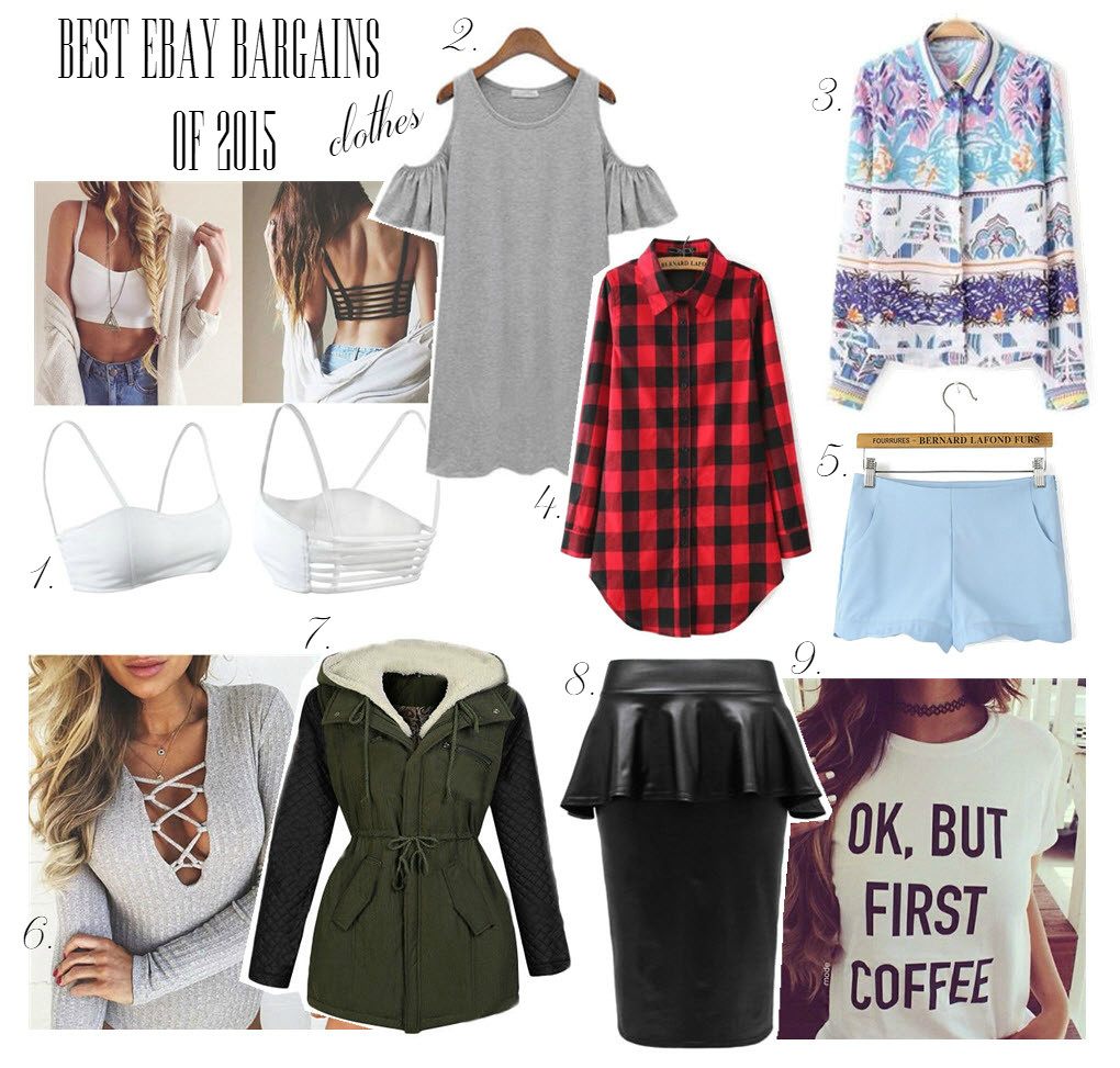 Best clothes on Ebay 2015