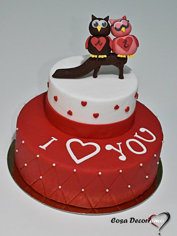 Torte - 146 - Torta San Valentino o Anniversario