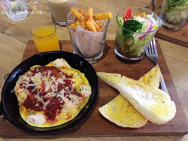丹調,台中,台中西區早午餐,套餐等創意料理,早午餐,歐,法,牛排,美,義式,酒吧,鐵鍋料理 @強生與小吠的Hyper人蔘~