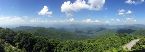 Brasstown Bald - Observation Deck - North View - Panorama | by jared422_80