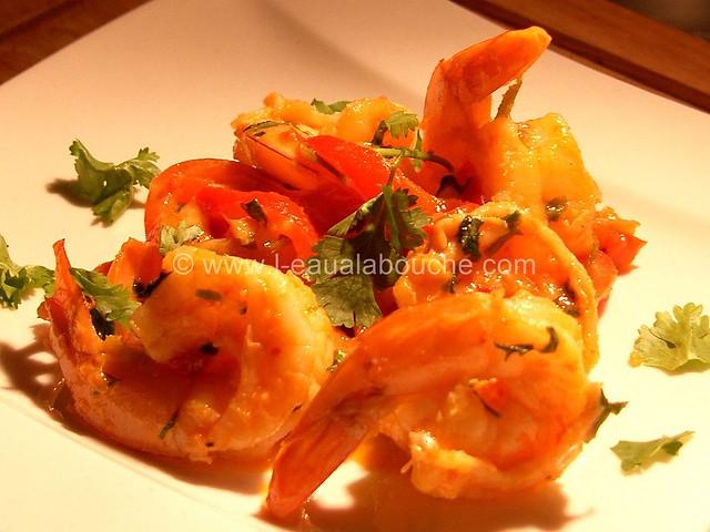 Crevettes Thaï à la Mangue © Ana Luthi Tous droits réservés 000012