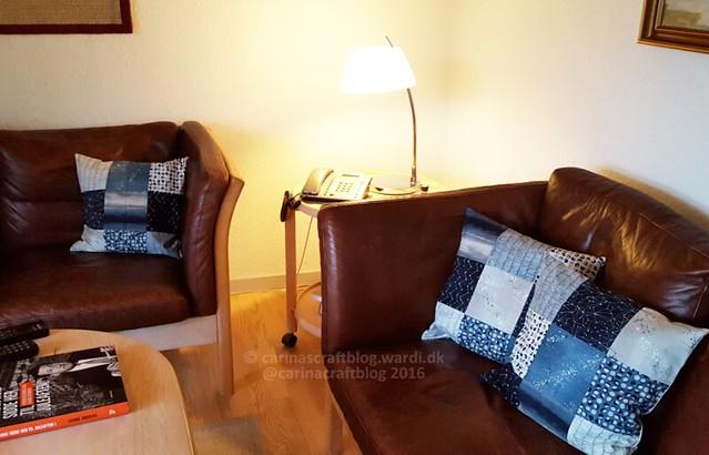 Nocturne cushions - in situ