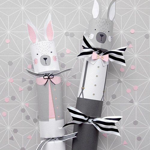Paper Bunny Rabbit Easter Crackers