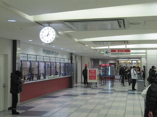 京都競馬場のATM