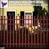 [ free bird ] Wrought Iron Fence Gacha Ad