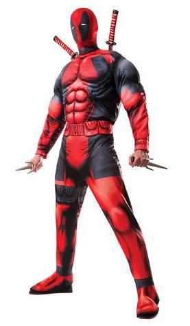 Disfraz de Deadpool deluxe Marvel