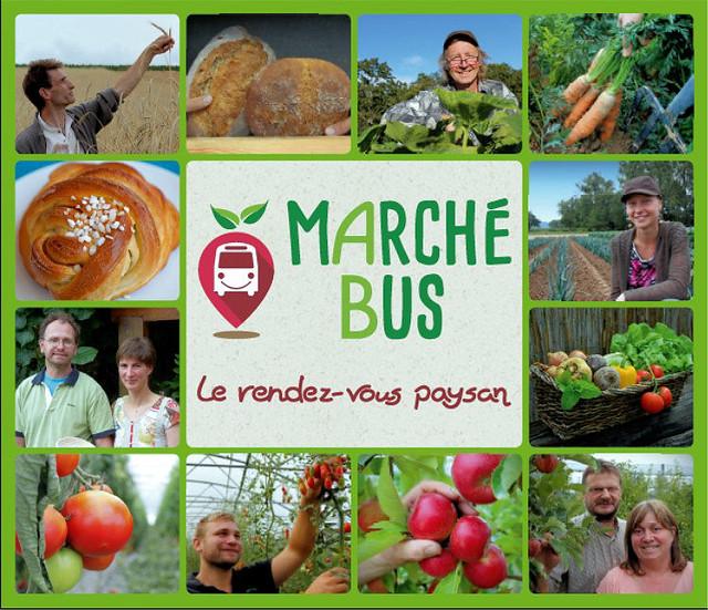 MarcheBus Nord Alsace - Sept producteurs bio s'associent !