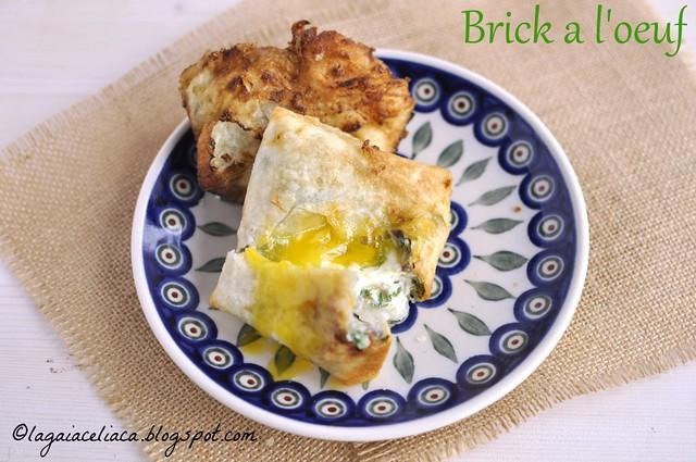 Brick à l'oeuf senza glutine