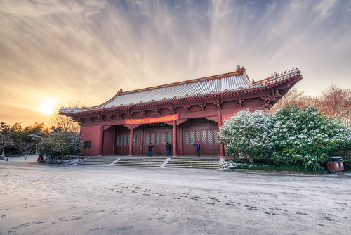 china winter snow cold building history museum architecture cn sunrise ancient nikon palace imperial nanjing dynasty jiangsu d800 nikond800 tamronsp1530f28