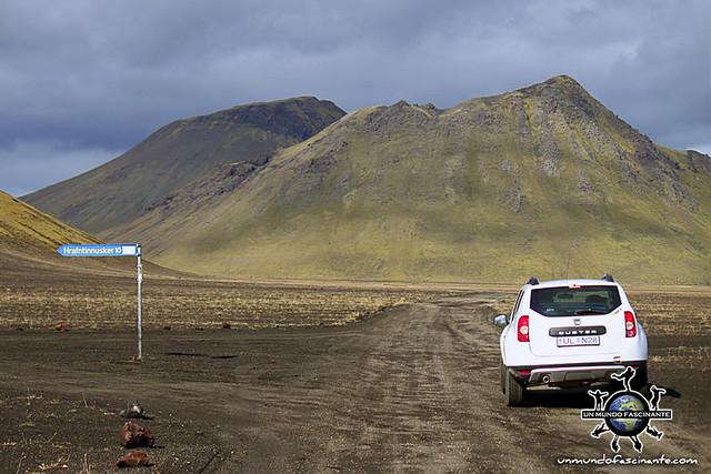 Carretera F (solo 4x4) - ISLANDIA