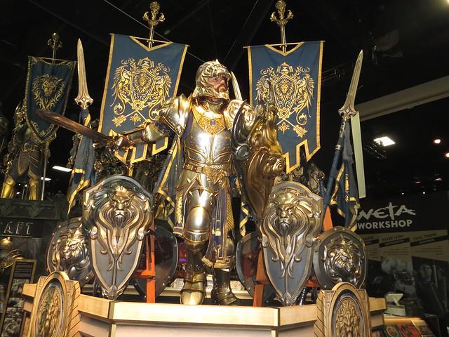 Warcraft Display at Weta Booth