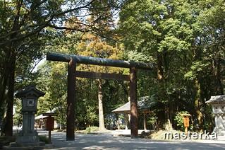 宮崎神宮の鳥居2