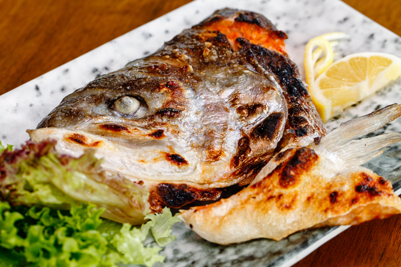 Ichiban the Izakaya Buffet Salmon Head