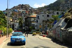 entrada da favela do vidigal