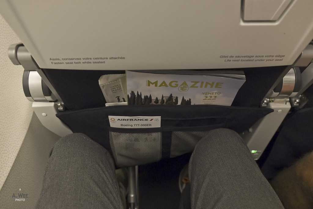 Legroom on Economy