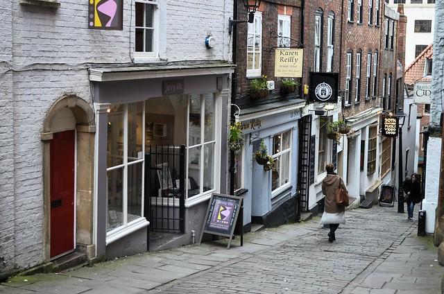 Christmas steps, antiquaires et magasins indépendants à Bristol