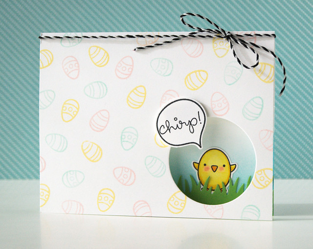 Easter window card