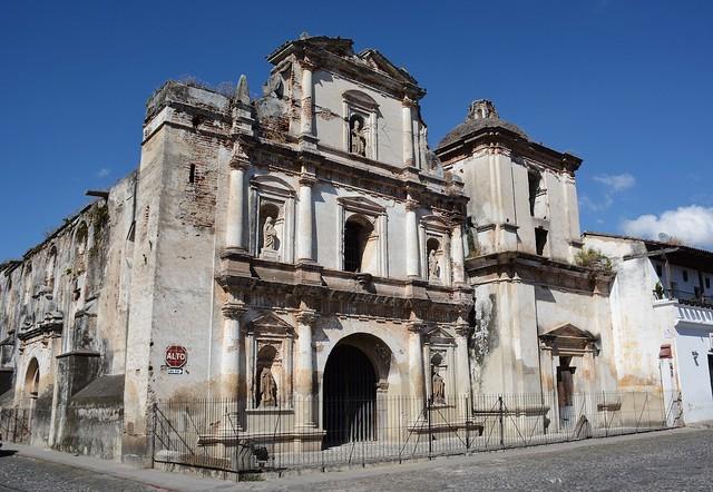 Antigua: Iglesia de San Agustín
