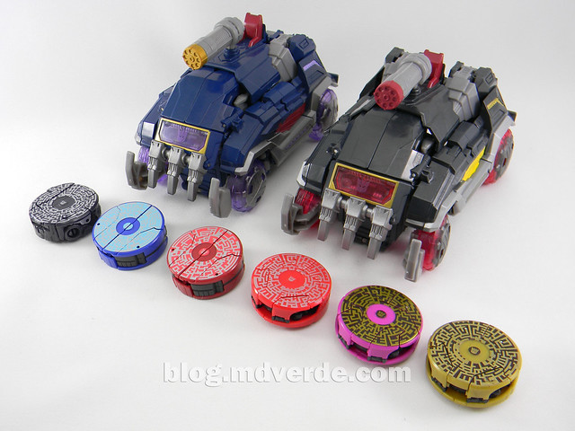 Transformers Soundblaster Voyager - Generations Fall of Cybertron - modo alterno vs Soundwave