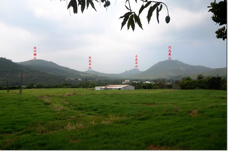 滿州永靖南眺群山