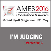 David Brain, president and CEO of Edelman APACMEA, is judging the AMES 2016 Awards